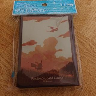 ポケモン(ポケモン)のポケモンカードゲーム デッキシールド ピカチュウと空(Box/デッキ/パック)