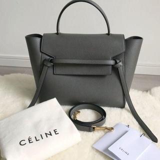 celine - Celine セリーヌ ベルトバック ハンドバッグ