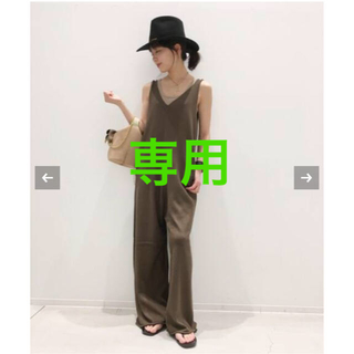 L'Appartement DEUXIEME CLASSE - アパルトモンGOOD GRIEF KNIT ALL IN ONE