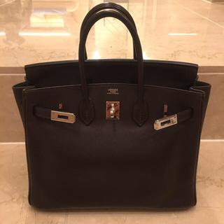 Hermes - バーキン25 黒っぽいカラー 正規品 美品 シルバー金具 エルメス HERMES