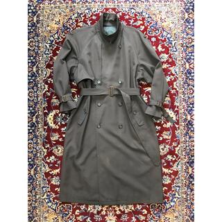 JOHN LAWRENCE SULLIVAN - VINTAGE over-fit gabardine trench coat
