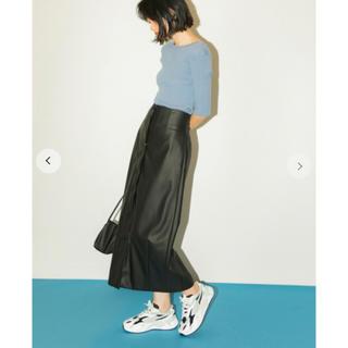 emmi atelier - ハイウエストタイトスカート BLK