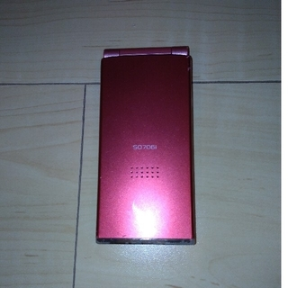 ソニー(SONY)のガラケー ドコモ SO706i   DOCOMO(携帯電話本体)