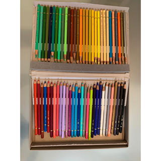 ミツビシエンピツ(三菱鉛筆)の色鉛筆 60色 uni MITSUBISHI color(色鉛筆)