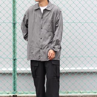 COMOLI - 新品未使用 COMOLI サイズ1  20AW ヨリ杢オープンカラーシャツ