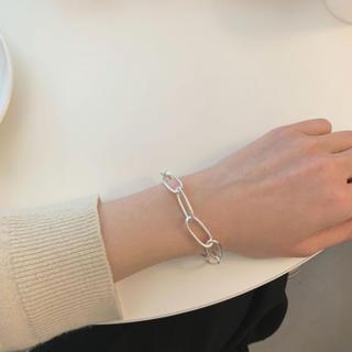 TODAYFUL - Silver925_ Oval chain bracelet
