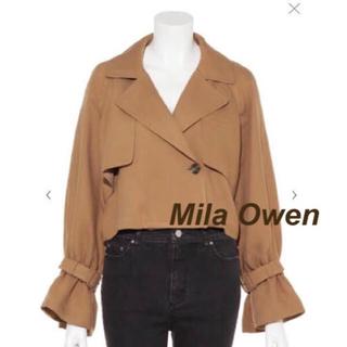 ミラオーウェン(Mila Owen)のMila Owen【ミラオーウェン】ショート丈トレンチ(トレンチコート)
