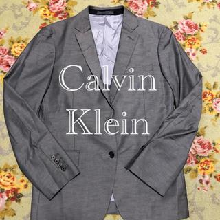 カルバンクライン(Calvin Klein)の★Calvin Klein★ グレー テーラードジャケット (テーラードジャケット)