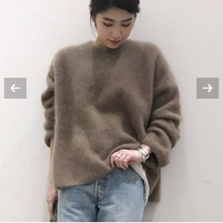 DEUXIEME CLASSE - AP STUDIO Light Fur ニット