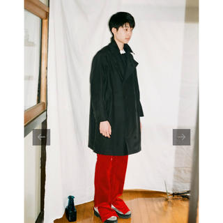 COMOLI - kudos 19aw TOO MANY BUTTONS TRENCH COAT