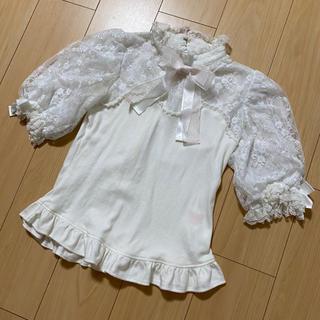 Angelic Pretty - Angelic Pretty カットソー ブラウス 半袖 レース