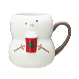 Starbucks Coffee - スターバックス 雪だるま マグカップ 新品