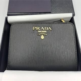 PRADA - PRADA 折り財布 1ML018 NERO