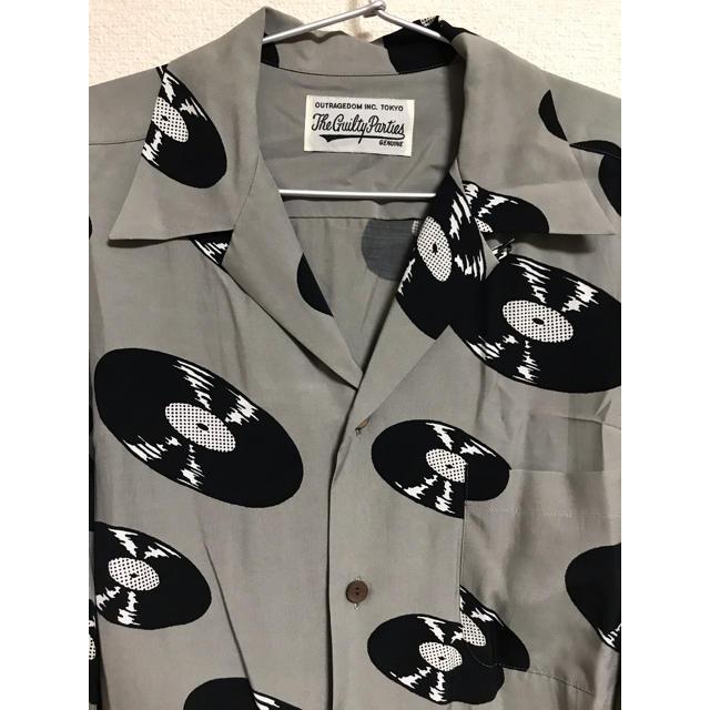 WACKO MARIA(ワコマリア)の WACKO  MARIA レコード アロハシャツ  M メンズのトップス(シャツ)の商品写真