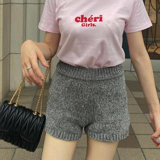 ロキエ(Lochie)のmini knit pants(ショートパンツ)