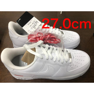 Supreme - Supreme Nike Air Force 1 Low US9 白 27.0