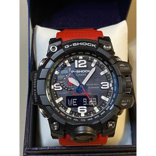 ジーショック(G-SHOCK)のカシG-SHOCK GWG-1000RD-4AJFレスキューレッドマッドマスター(腕時計(デジタル))