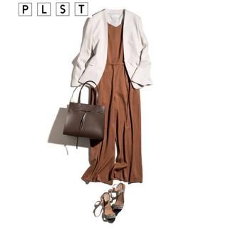 PLST - 【新品未使用】PLST  ポリオックスナローベルトオールインワン M ブラウン