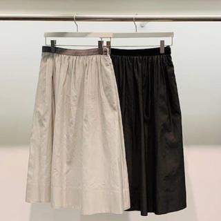 マーガレットハウエル(MARGARET HOWELL)のマーガレットハウエル ギャザー スカート(ひざ丈スカート)