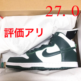 ナイキ(NIKE)のNike Dunk High SP Spartan Green 27.0 ダンク(スニーカー)