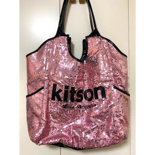 キットソン(KITSON)のKITSON スパンコールトートバッグ(トートバッグ)