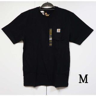 カーハート(carhartt)のCarhartt k87 ブラック Tシャツ/M(Tシャツ/カットソー(半袖/袖なし))