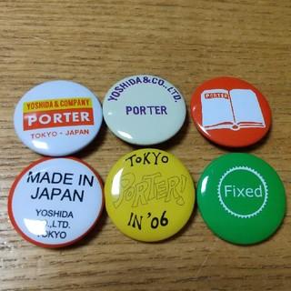 ポーター(PORTER)のPORTER ポーター 缶バッチ(その他)