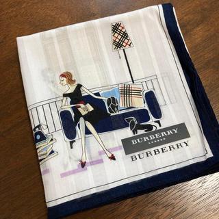 BURBERRY - バーバリー 女の子 ハンカチ 新品 未使用