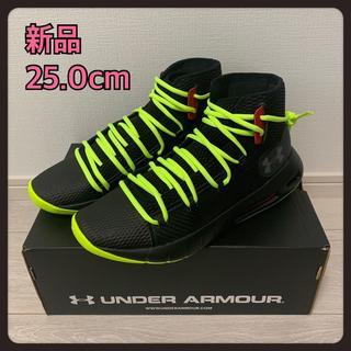 アンダーアーマー(UNDER ARMOUR)の25.0 アンダーアーマー スニーカー トレーニングシューズ ハイカット 廃盤(スニーカー)