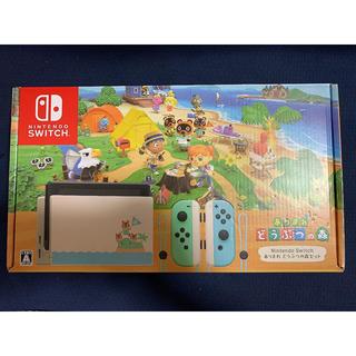 Nintendo Switch - 任天堂 Nintendo Switch どうぶつの森セット 本体