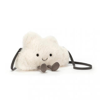 国内完売 新品タグ付 ジェリーキャット ふわふわの雲 ポシェット バッグ(ポシェット)