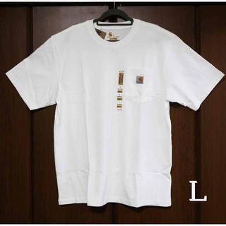 カーハート(carhartt)のCarhartt k87 ホワイト Tシャツ/L(Tシャツ/カットソー(半袖/袖なし))