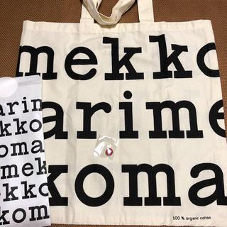 marimekko - マリメッコ トートバッグ ピンバッチ ノベルティ