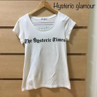 ヒステリックグラマー(HYSTERIC GLAMOUR)の【複数割】大人気 ヒステリックグラマー 半袖 tシャツ フリーサイズ(目安M)(Tシャツ(半袖/袖なし))