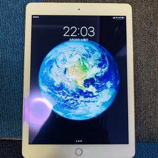 Apple - iPad 2017 32GB GD DOCOMO SIMフリー セルラー 美品