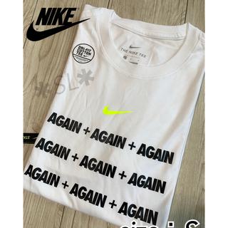 NIKE - 新品 NIKE ナイキ Tシャツ DRI-FIT AGAIN ホワイト S