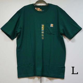 カーハート(carhartt)のCarhartt カーハート k87 グリーン Tシャツ/L(Tシャツ/カットソー(半袖/袖なし))
