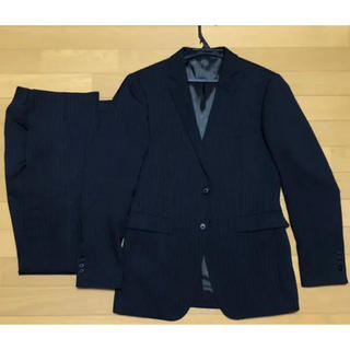 オリヒカ(ORIHICA)の【早い者勝ち!】   ORIHICA メンズスーツ 黒ストライプ セットアップ(セットアップ)