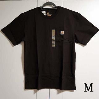 カーハート(carhartt)のCarhartt k87 ダークブラウン Tシャツ/M(Tシャツ/カットソー(半袖/袖なし))