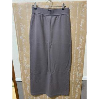 フレームワーク(FRAMeWORK)のFRAMeWORKミニ裏毛ロングスカート(ロングスカート)