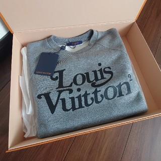ルイヴィトン(LOUIS VUITTON)のLOUIS VUITTON スクエアード LV スウェットシャツ 新品 NIGO(スウェット)