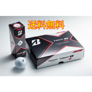★送料無料★ ブリヂストン TOUR B X 2020 ゴルフボール ホワイト