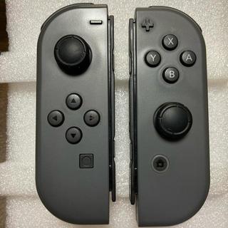 Nintendo Switch - 美品 任天堂Switch ジョイコン グレー R・Lセット②