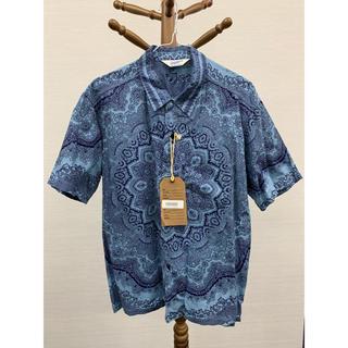 テンダーロイン(TENDERLOIN)のテンダーロイン     ペイズリー半袖シャツ S(シャツ)