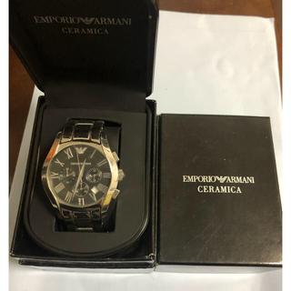 エンポリオアルマーニ(Emporio Armani)のEMPORIO ARMANI  CERAMICA(腕時計(アナログ))