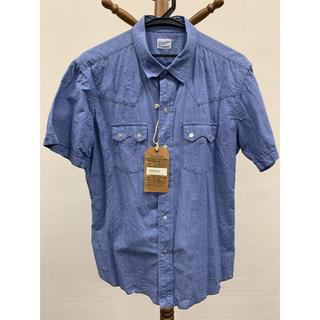 テンダーロイン(TENDERLOIN)のテンダーロイン     シャンブレー半袖シャツ S(シャツ)