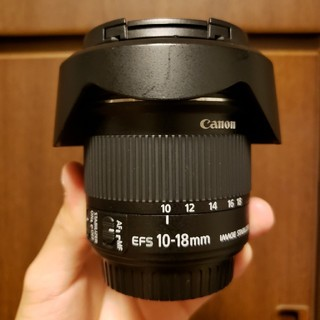 Canon - EF-S 10-18mm F4.5-5.6 IS STM