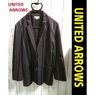 UNITED ARROWS - UNITED ARROWS ユナイテッドアローズ 黒 ストライプ ジャケット