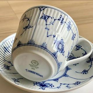ロイヤルコペンハーゲン(ROYAL COPENHAGEN)のロイヤルコペンハーゲン カップ&ソーサー(大)1客(食器)