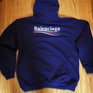 Balenciaga - BALENCIAGA パーカー キャンペーンロゴ バレンシアガ スウェット
